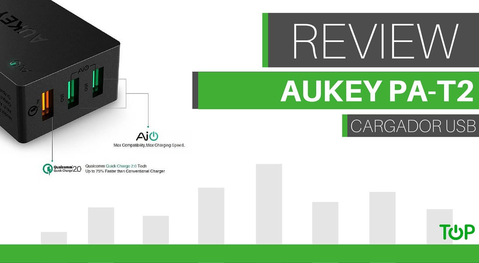 Análisis del cargador Aukey de 3 puertos y carga rápida