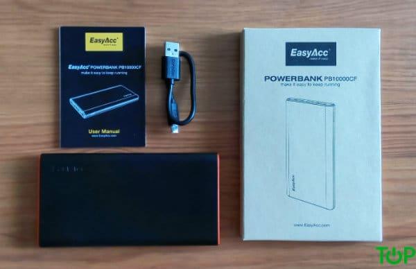 contenido-powerbank-easyacc-10000-mah