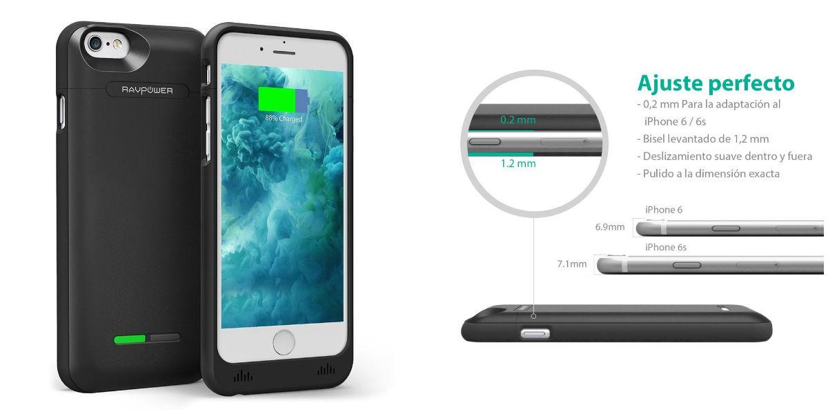 Carcasa Bateria Iphone  Plus