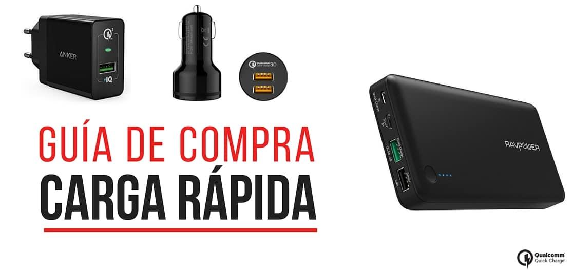 carga rapida bateria quick charge