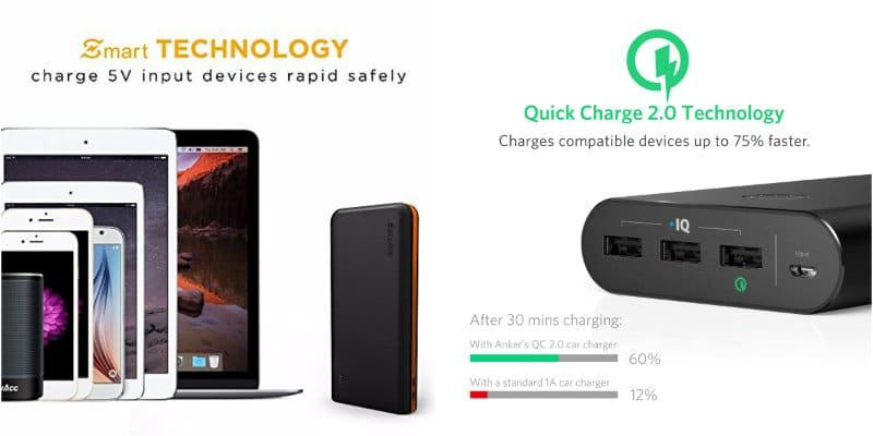 carga rapida quick charge y carga inteligente
