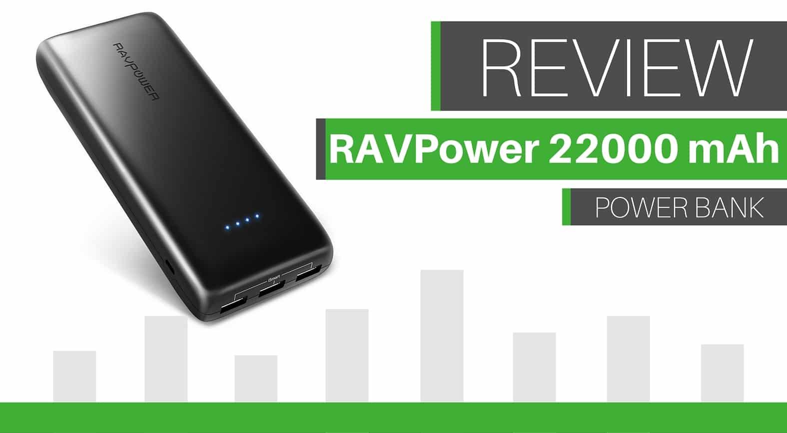 RAVPower Ace 22000 mAh, el nuevo buque insignia de la marca
