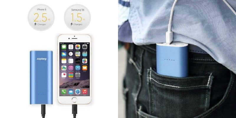 mejores baterías externas easyacc