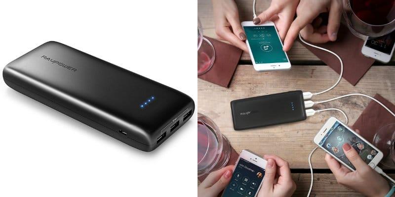 mejores baterías externas ravpower
