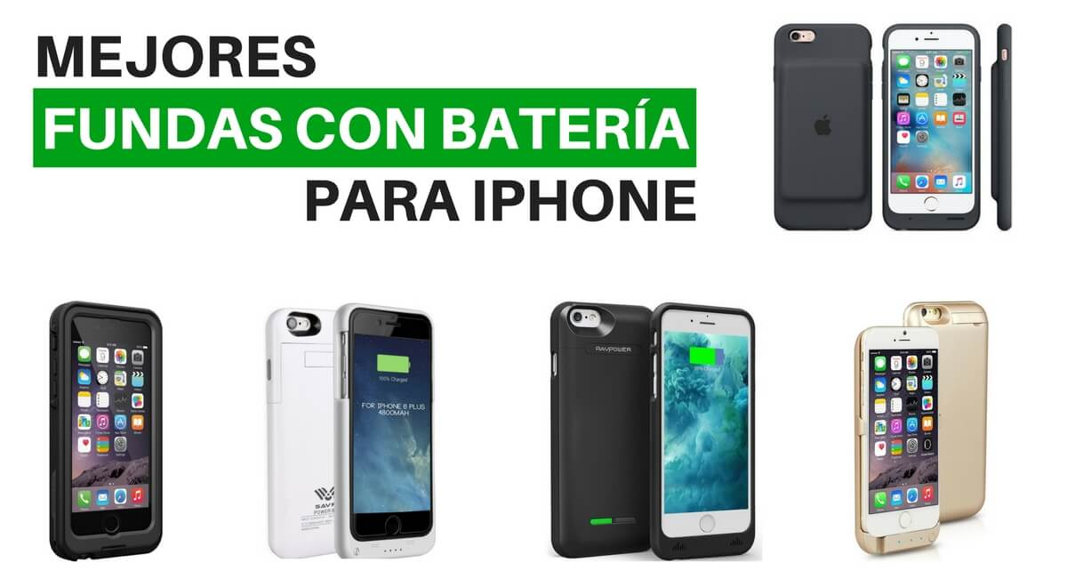Mejores fundas con batería iPhone