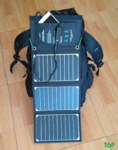 mochila cargador solar Ravpower 16W