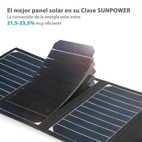 panel solar cargador RAVPower