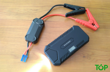 jump starter ravpower cables
