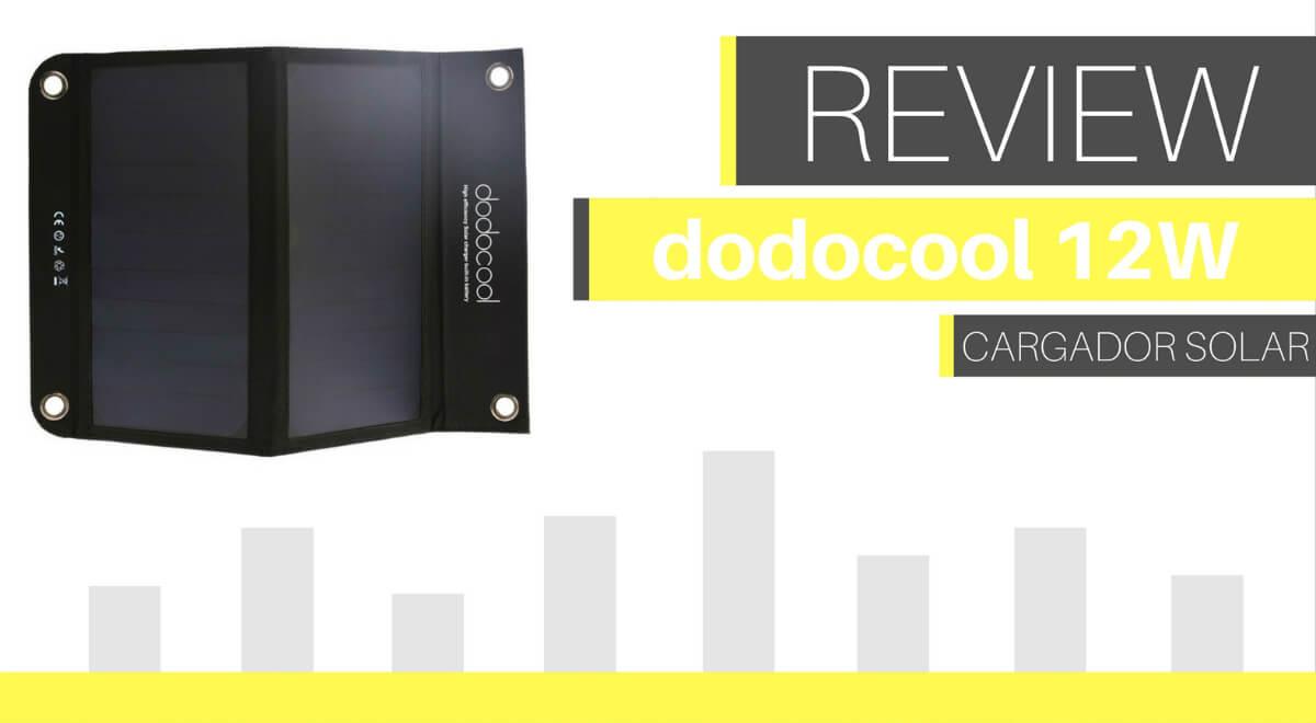 analisis cargador solar dodocool 12w