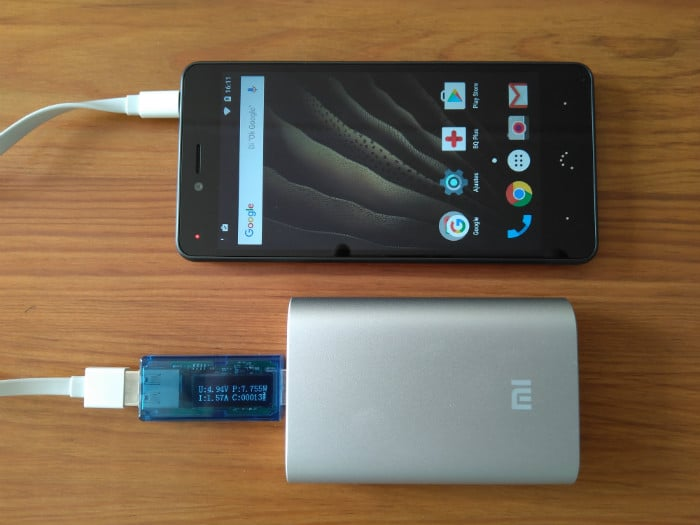 review xiaomi powerbank 10000 mah carga dispositivos