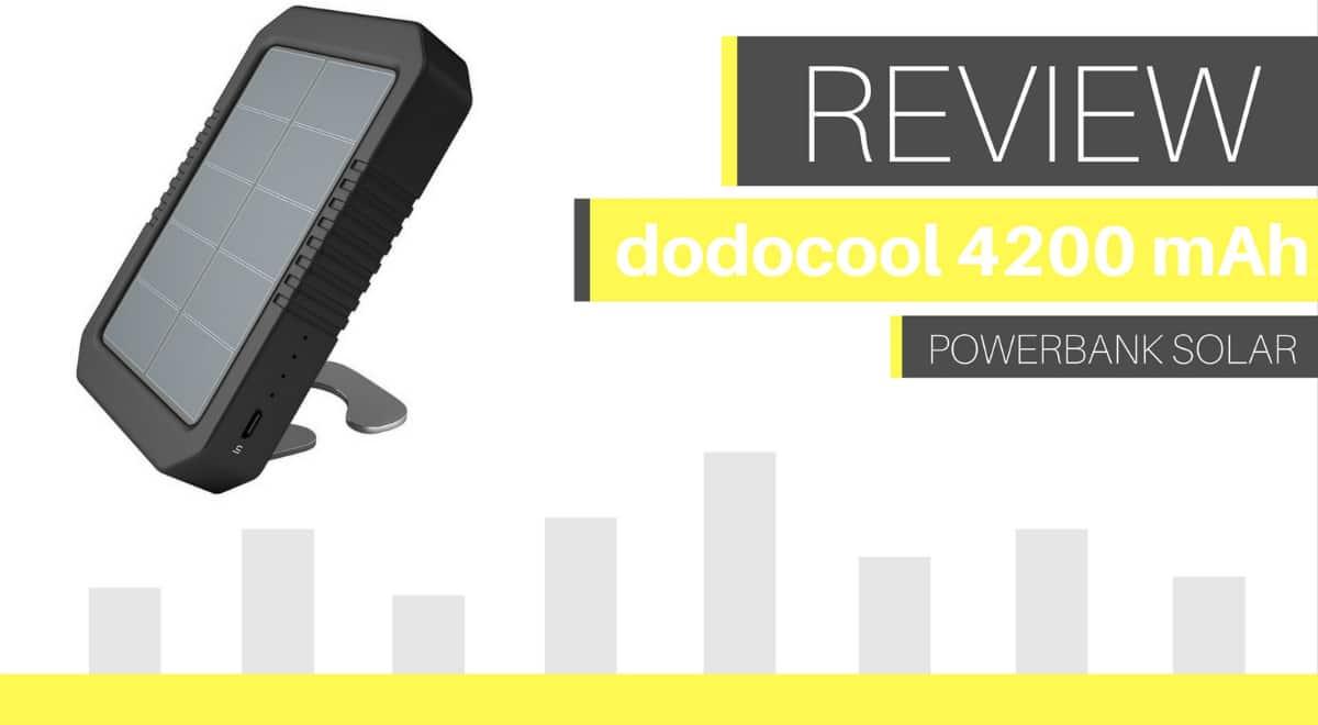 Análisis del power bank solar dodocool de 4200 mAh