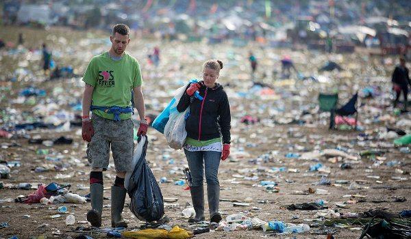basura festival camping