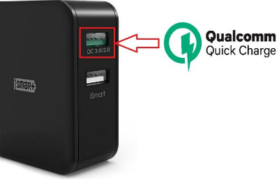 cargador ravpower quick charge 3.0