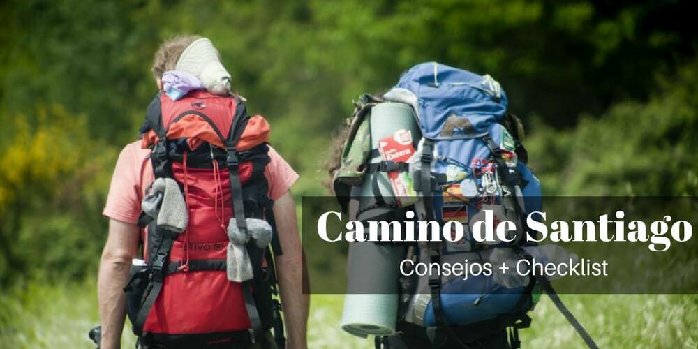 Que llevar al Camino de Santiago
