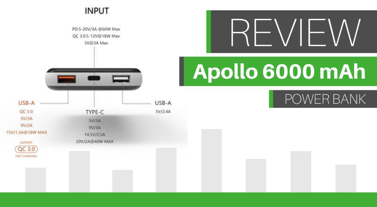 review apollo power bank
