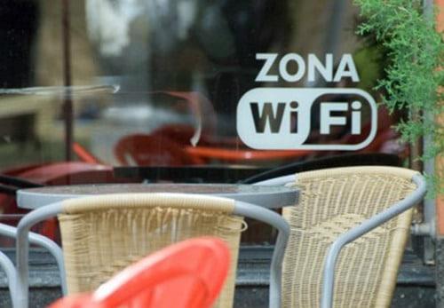 zona wifi restaurantes