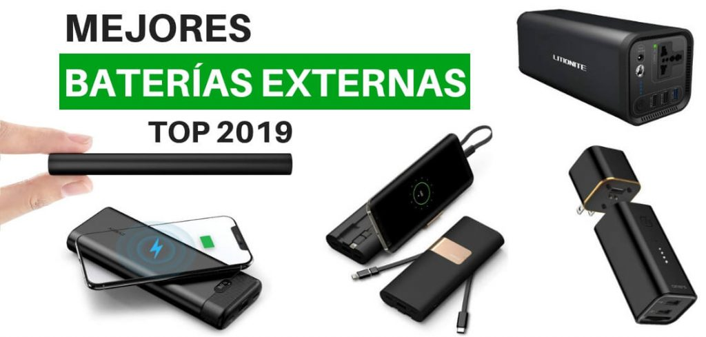 Mejores baterías externas 2019