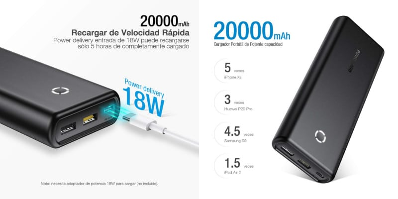 powerbank poweradd 20000mah