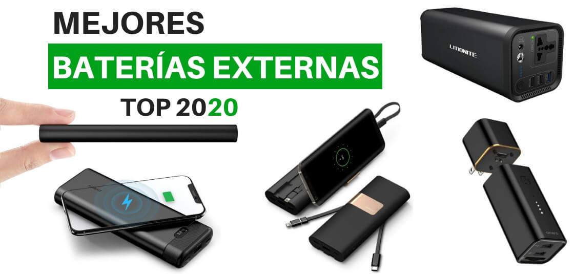 Mejores baterías externas 2020
