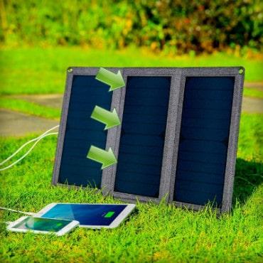 posicion cargador solar