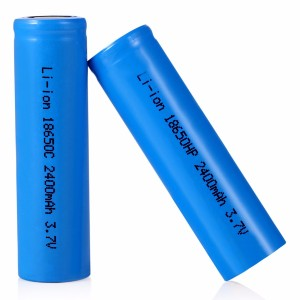 Lithium Ion Battery Cell 2400mAh 3.7V